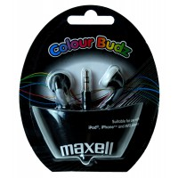 Слушалки тапи MAXELL color BUDS черни