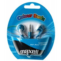 Слушалки тапи MAXELL color BUDS сини