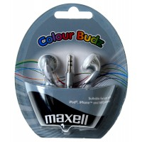 Слушалки тапи MAXELL color BUDS сребристи