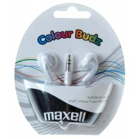 Слушалки тапи MAXELL color BUDS  бели