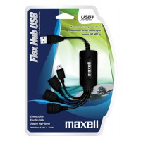USB  Хъб  Maxell FLEX  USB2.0  3 портов + mini USB