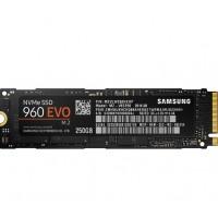 Твърд диск SSD Samsung 960 EVO M2 PCIe 256GB Read/Write до 3200/1500MB/s