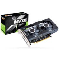 Видео карта Inno3D GeForce GTX 1650 Twin X2 OC 4GB DDR5 128bit HDMI 2xDP