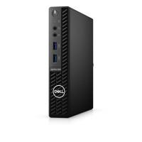 Настолен компютър Dell OptiPlex 3080 MFF i3-10105T 4GB  128GB SSD PCIe  Win10 Pro  black