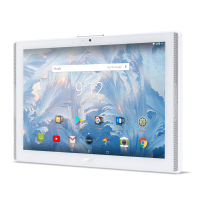 """Tablet Acer Iconia B3-A42-K8B6 4G LTE™ 10.1"""" WXGA IPS HD Cortex A53 1.3 GHz 2GB LPDDR3 16GB  Android™ 7.0 White"""