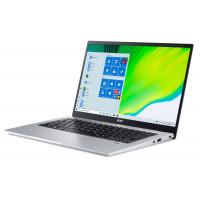 """Лаптоп Acer Swift 1 SF114-34-C8TY  Celeron N5100 14"""" 1080p IPS 8GB  256GB PCIe SSD WIn10 Home Silver"""