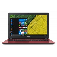 "Лаптоп Acer Aspire 3 Celeron N4100 Quad-Core 15.6"" Anti-Glare 4GB 128GB SSD Linux Red"