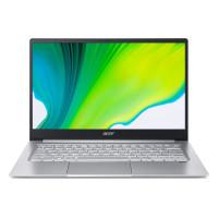 "Лаптоп Acer Swift 3 SF314-42-R988 Ryzen 5 4500U 14"" 1080p IPS 8GB 512GB NVMe SSD Win10 Home Silver"