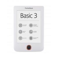 "eBook четец PocketBook Basic3 PB614-2 6"" бял"