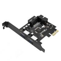 PCI-Express карта Orico PVU3-2O2I с 2 USB 3.0 порта
