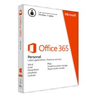Програмен продукт Office 365 Personal English EuroZone Subscr 1YR Medialess P2