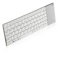 Безжична клавиатура RAPOO E2710 2.4Ghz бяла