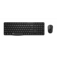 Комплект клавиатура и мишка RAPOO X1800S Безжични Черен
