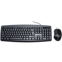 Комплект клавиатура и мишка RoXpower T13 USB2.0 1200dpi black