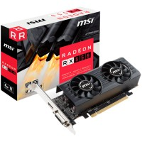 Видео карта MSI AMD Radeon RX 550 OC 4GB GDDR5 128bit DVI-D HDMI Dual Fan Retail