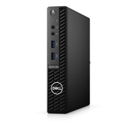 Настолен компютър Dell OptiPlex 3080 MFF i3-10100T 8GB 256GB SSD Win10 Pro  3Y Basic Onsite