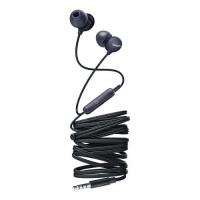 Слушалки с микрофон Philips за поставяне в ушите 8,6mm drivers черен
