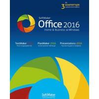 Софтуерен офис пакет  SoftMaker Office Home and Business 2016 for Windows - за 3 компютъра
