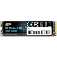Твърд диск SSD Silicon Power A60 512GB M.2 2280 PCIe Gen3x4 Read/Write up to 2200/1600 Mb/s