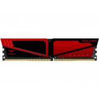 Памет Team Group T-Force Vulcan 4GB DDR4 2666MHz  CL15-17-17-35 1.2V  red