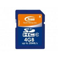 Флаш карта памет TEAM SDHC 4GB Class 10