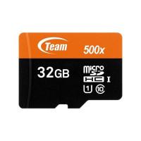 Карта памет Team Group 32GB Micro SDHC/SDXC UHS-I Orange Card + SD Adapter