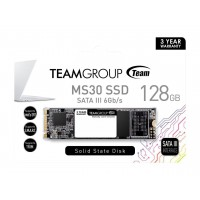 Твърд диск SSD Team Group MS30 128GB M.2 2280 SATA III read/write up to 550/460MB/s