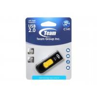 USB флаш памет Team Group C141 32GB USB 2.0 Жълт