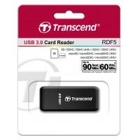 Четец за флаш карта Transcend USB 3.0 SD microSD Black