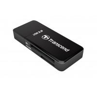 Четец за флаш карта Transcend SDHC/MMC4+MicroSDHC/M2  black