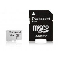 Флаш памет Transcend 16GB UHS-I U1 microSD with Adapter