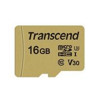 Флаш памет Transcend 16GB microSD UHS-I U3 (with adapter), MLC
