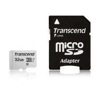 Флаш памет  Transcend 32GB UHS-I U1 microSD with Adapter
