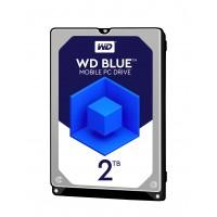 """Твърд диск WD Blue 2TB 2.5"""" SATAIII 128MB 7mm"""