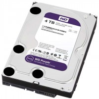 Твърд диск Western Digital Purple 3.5'' 4TB 64MB 5400rpm surveillance