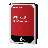 Твърд диск WD Red 6TB SATAIII 256MB for NAS 5400rpm