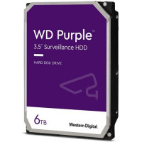 "Твърд диск Western Digital Purple Surveillance 6TB 3,5"" 5400rpm SATA 6Gb/s 128MB cache"