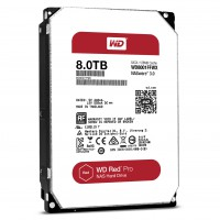 Твърд диск WD WD8001FFWX Red PRO 8TB 128MB for NAS