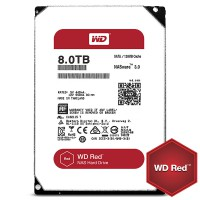 HDD WD 8TB 128MB 5400rpm Red for NAS