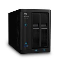 NAS устройство WD MyCloud PR2100 2-bay 2xGigabit + 2xUSB 3.0 (up to 16TB) 0TB WDBBCL0000NBK