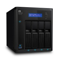 NAS устройство WD MyCloud PR4100 4-bay 2xGigabit Lan + 3xUSB3.0 (up to 32TB) 0TB WDBNFA0000NBK