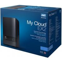 NAS WD MyCloud EX2 ULTRA 2-bay 4TB(2 x 2TB WD Red) Gigabit + 2 x USB 3.0 WDBVBZ0040JCH