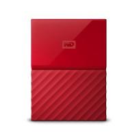 Twърд диск външен WD MyPassport 3TB USB3.0 Red WDBYFT0030BRD