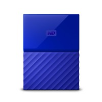 "Твърд диск WD MyPassport Blue 4TB 2.5""USB3.0 WDBYFT0040BBL"