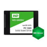 "Твърд диск SSD WD Green 240GB 2.5"" SATA III SLC read/write up to 540/465MB/s"