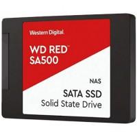 "Твърд диск SSD WD Red 500GB 2.5"" SATA III 6Gb/s read/write up to 560/530MB/s"