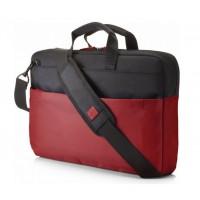 "Чанта HP 15.6"" Duotone BriefCase - Red"