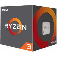Процесор AMD RYZEN 3 1200 3.2/3.4GHz 4C/4T 10MB 65W AM4 box Wraith Stealth cooler