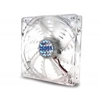 Oхладител за кутия ZALMAN ZM-F1 LED SF бял/син