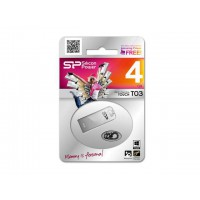 USB Flash Silicon Power  flash drive touch T03 4GB